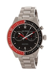 Jack Spade Men's Davison 2 Eye Chronograph Watch Metallic