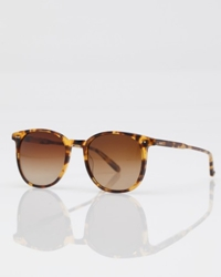 Need Supply Co. Garrett Leight The Rialto Leopard Tort