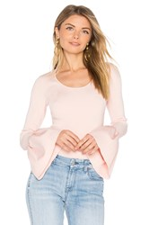 Elizabeth And James Willow Bell Sleeved Top Pink