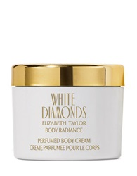 Elizabeth Taylor White Diamonds 8.4 Oz Perfumed Body Cream No Color