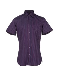 Ungaro Shirts Shirts Men Dark Purple