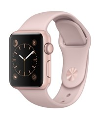 Apple Watch Series 1 38Mm Rose Gold Aluminum Case With Pink Sand Sport Band