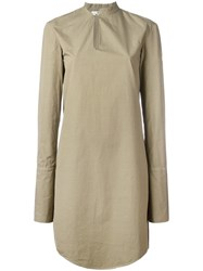 Chalayan Offset Dress Green