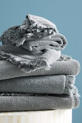 Kassatex Antico Towel Collection Grey