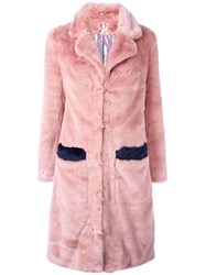 Shrimps 'Claude' Coat Pink Purple