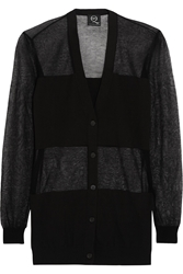 Mcq By Alexander Mcqueen Fine Knit Cotton Blend Cardigan