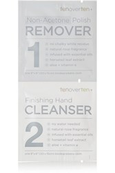 Tenoverten Non Acetone Polish Remover Finishing Hand Cleanser Cloths Colorless