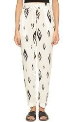 Sass And Bide Foreign Correspondent Pants Print