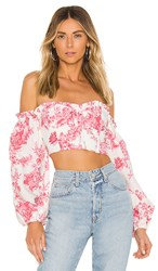 X By Nbd Dolores Top In Pink. Harvest Pink