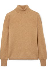 J.Crew Layla Cashmere Turtleneck Sweater Camel