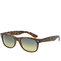 Ray Ban Ray Ban New Wayfarer Sunglasses Matte Havana Polarised