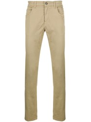 Fay Slim Fit Chinos Neutrals