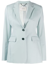 Dorothee Schumacher Structured Blazer Blue