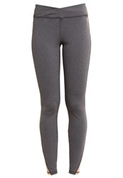 Roxy Mathura Tights Charcoal Heather Grey