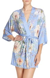 Flora Nikrooz Women's 'Magnolia' Knit Short Robe