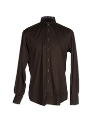 Del Siena Shirts Shirts Men Dark Brown