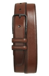 Nordstrom Men's Big And Tall Men's Shop Parker Leather Belt Cognac