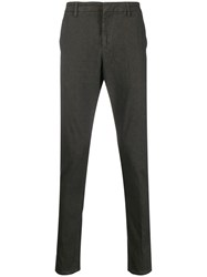 Dondup Straight Leg Trousers Brown