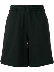 Marcelo Burlon County Of Milan Jean Contrast Sweat Shorts Black