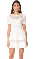 Rebecca Minkoff Angeles Dress White