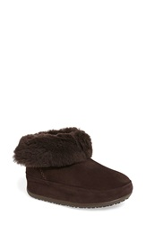 Fitflop 'Shorty' Boot Women Brown Suede