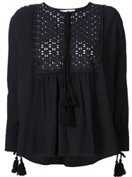Apiece Apart 'Capellina' Tunic Top Black