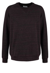 Eleven Paris Win Bomby Sweatshirt Ruby Wine Melanged Bordeaux