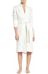 Uggr Women's Ugg 'Karoline' Fleece Robe Cream