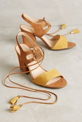 Anthropologie Klub Nico Kaira Heels Neutral Motif