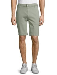 7 For All Mankind Classic Chino Shorts Green