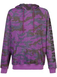 Cynthia Rowley Benny Hoodie Pink And Purple