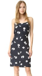 Jenni Kayne Tie Back Dress Black White