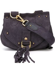 See By Chloe See By Chloe Small 'Collins' Crossbody Bag Blue