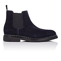Heschung Tremble Suede Chelsea Boots Navy