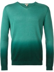 Burberry Brit Fade Out Sweater Green