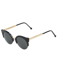 Retrosuperfuture Retro Super Future 'Lucia Francis' Sunglasses Black
