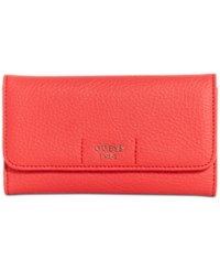 Guess Trudy Slim Wallet Poppy