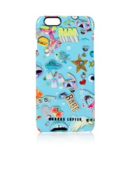 Markus Lupfer Sticker Print Iphone 6 Hardcover Blue Blue