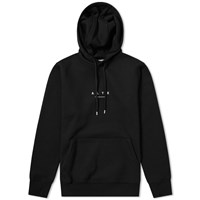 1017 Alyx 9Sm A Logo Hooded Sweat Black