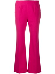 Les Copains Cropped Length Trousers Pink