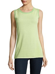 Lafayette 148 New York Scoopneck Tank Top Mint