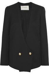 Lanvin Wool Twill Blazer Black