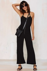 Nasty Gal After Party Vintage Autry Halter Jumpsuit