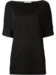 Givenchy Side Slit T Shirt Black