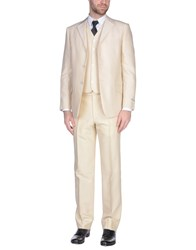 Pal Zileri Cerimonia Suits Beige