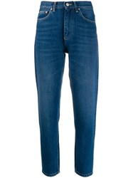 Carhartt Wip Cropped Page Jeans Blue