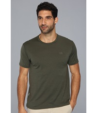 Icebreaker Tech T Lite Short Sleeve Shirt Cargo Men's Clothing Taupe