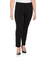 Lord And Taylor Plus Kelly Slim Pants Black