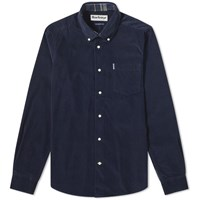 Barbour Cord Shirt Blue