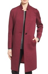 Nanette Lepore Women's Lapore Notch Collar Reefer Coat